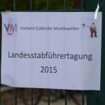 Landesstabführertagung 2015