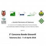 2018-04-07+08 Società Filarmonica di Talamona - Concorso per Bande Giovanili 2018 -4- (Titelbild 4x4)