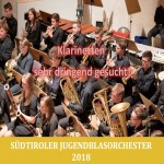 2018-05-08 VSM Newsletter (SJBO - Klarinetten sehr dringend gesucht)