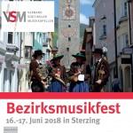 Brochüre Bezirksmusikfest 2018 (Titelblatt 4x4)