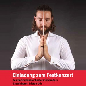 BBO Schlanders 2018, Gastdirigent TRISTAN UTH (Titelbild 4x4)