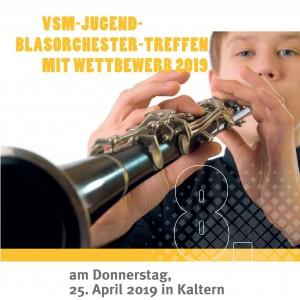 VSM-Jugendblasorchestertreffen mit Wettbewerb 2019 (Titelbild)