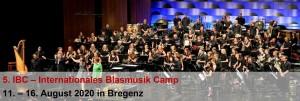 2020-08-11bis16 Vorarlberger Blasmusikverband vbv - 5. IBC Internationales Blasmusik Camp ... 5 Tage Musikferien am Bodensee (Banner)